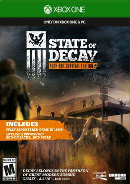 State of Decay Xbox One, Game on XBOXONE, Action Video Games, ,  on XBOXONE