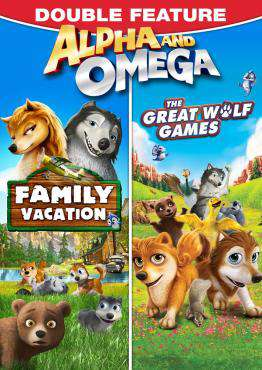 Alpha and Omega: Family Vacation, Movie on DVD, Comedy Movies, Family Movies, Kids Movies, ,  on DVD