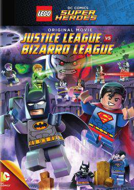 LEGO DC Super Heroes: Justice League Bizarro League , Movie on DVD, Family Movies, Kids Movies, ,  on DVD