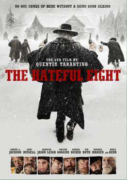 The Hateful Eight, Movie on DVD, Action Movies, War & Western Movies, ,  on DVD