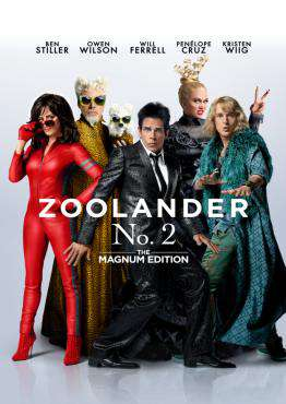 Zoolander No. 2: The Magnum Edition, Movie on Blu-Ray, Comedy Movies, ,  on Blu-Ray