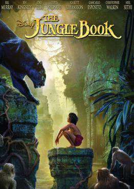 The Jungle Book (2016), Movie on DVD, Family Movies, Adventure Movies, ,  on DVD