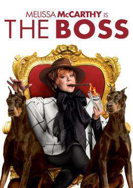 The Boss, Movie on Blu-Ray, Comedy Movies, ,  on Blu-Ray