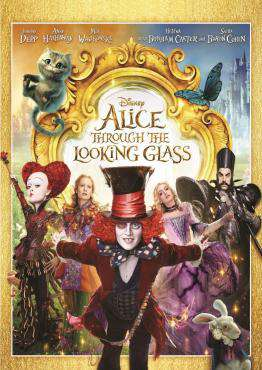 Alice Through The Looking Glass, Movie on Blu-Ray, Family Movies, ,  on Blu-Ray