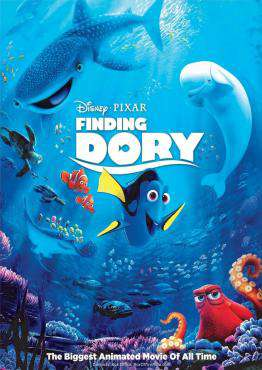 Finding Dory, Movie on Blu-Ray, Animated Movies, Kids Movies, Comedy Movies, Family Movies, Children Movies, Sequel Movies, ,  on Blu-Ray