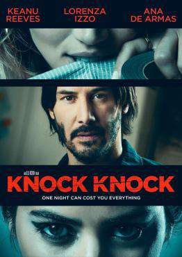 Knock Knock (2015), Movie on DVD, Drama Movies, Suspense Movies, ,  on DVD