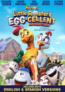 Huevos Little Rooster's Egg-cellent Adventure, Movie on DVD, Family Movies, Animation Movies, new movies, new movies on DVD