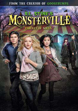 R.L. Stine's Monsterville: Cabinet of Souls, Movie on DVD, Family Movies, Adventure Movies, ,  on DVD