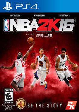 NBA 2K16, Game on PS4, Sports Video Games, ,  on PS4