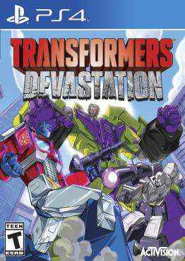 Transformers Devastation, Game on PS4, Sports Video Games, ,  on PS4