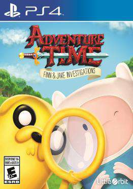 Adventure Time: Finn & Jake Investigations, Game on PS4, Action Video Games, ,  on PS4