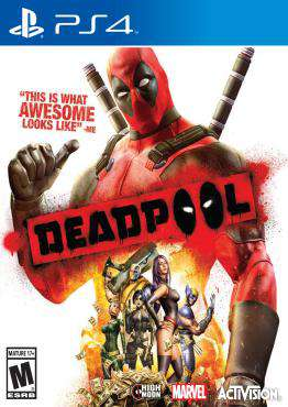 Deadpool, Game on PS4, Action Video Games, ,  on PS4