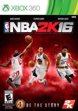 NBA 2K16 Xbox 360, Game on XBOX360, Sports Video Games, new video games, new video games on XBOX360