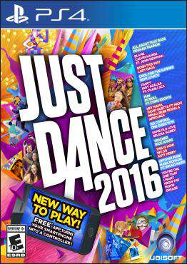 Just Dance 2016, Game on PS4, Family Video Games, new video games, new video games on PS4