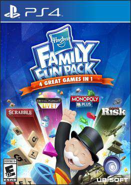 Hasbro Family Fun Pack, Game on PS4, Family Video Games, new video games, new video games on PS4