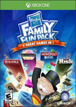 Hasbro Family Fun Pack Xbox One, Game on XBOXONE, Family Video Games, new video games, new video games on XBOXONE