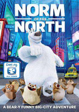 Norm Of The North, Movie on Blu-Ray, Family Movies, Kids Movies, new movies, new movies on Blu-Ray
