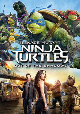 Teenage Mutant Ninja Turtles: Out of the Shadows, Movie on Blu-Ray, Action Movies, Adventure Movies, ,  on Blu-Ray