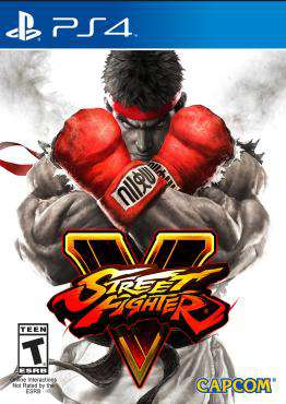 Street Fighter V, Game on PS4, Fighting Video Games, ,  on PS4