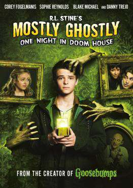 R.L. Stine's Mostly Ghostly: One Night in Doom House, Movie on DVD, Family Movies, movies coming soon, new movies in September