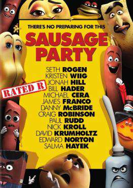 Sausage Party, Movie on Blu-Ray, Animated Movies, Comedy Movies, Animated Movies, Comedy Movies, ,  on Blu-Ray