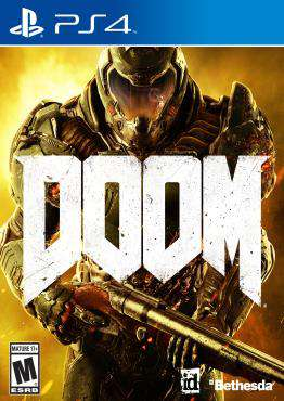 Doom, Game on PS4, Shooter Video Games, ,  on PS4