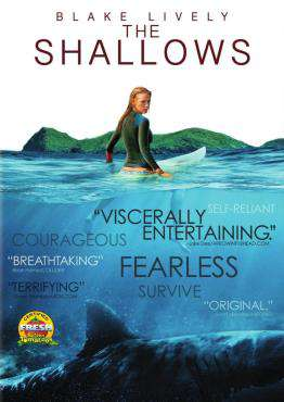 The Shallows, Movie on Blu-Ray, Drama Movies, Suspense Movies, ,  on Blu-Ray