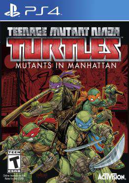 Teenage Mutant Ninja Turtles: Mutants in Manhattan, Game on PS4, Action Video Games, ,  on PS4