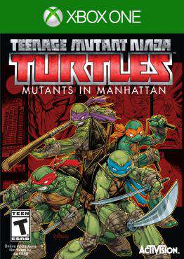 Teenage Mutant Ninja Turtles: Mutants in Manhattan Xbox One, Game on XBOXONE, Action Video Games, ,  on XBOXONE