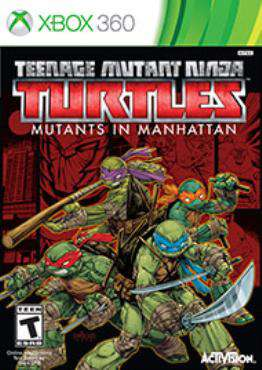 Teenage Mutant Ninja Turtles: Mutants in Manhattan Xbox 360, Game on XBOX360, Action Video Games, ,  on XBOX360