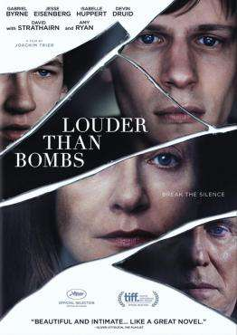 Louder Than Bombs, Movie on DVD, Drama Movies, movies coming soon, new movies in August