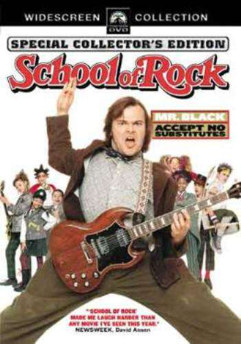 School of Rock (2003), Movie on DVD, Comedy