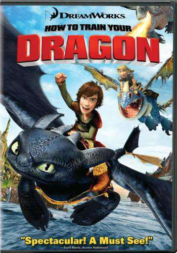 How to Train Your Dragon, Movie on DVD, Family Movies, Adventure