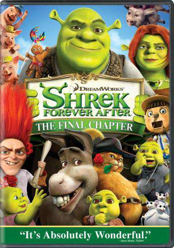 Shrek Forever After, Movie on DVD, Family