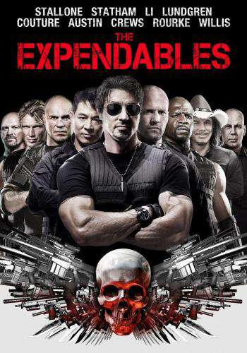 The Expendables, Movie on DVD, Action