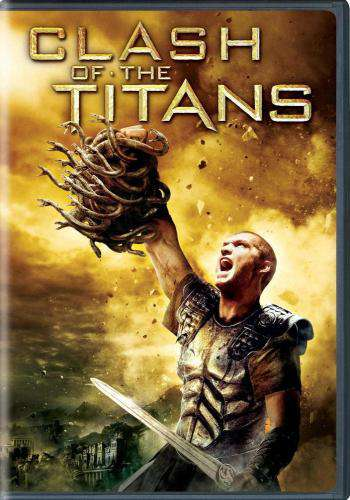 Clash of the Titans (2010), Movie on DVD, Action Movies, Adventure