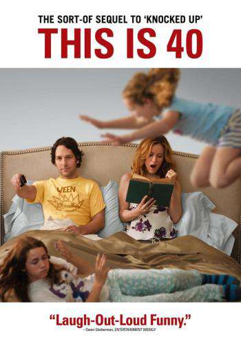 This Is 40, Movie on DVD, Comedy