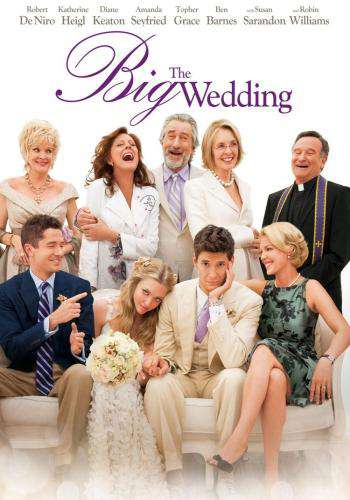 The Big Wedding, Movie on DVD, Comedy Movies, Romance
