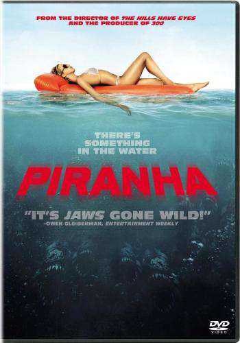 Piranha (2010), Movie on DVD, Horror Movies, Suspense