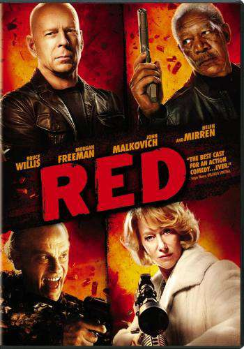Red, Movie on DVD, Action Movies, Suspense