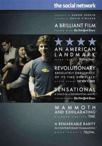 The Social Network, Movie on DVD, Drama