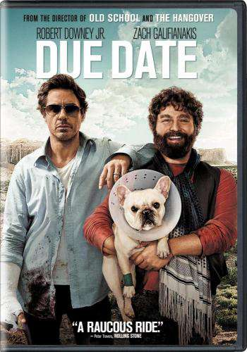 Due Date, Movie on DVD, Comedy