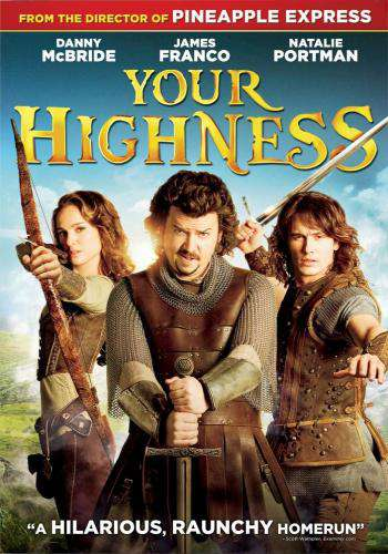 Your Highness, Movie on DVD, Comedy