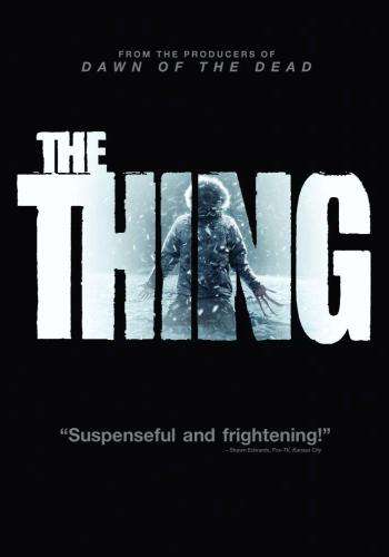 The Thing (2011), Movie on DVD, Action Movies, Horror Movies, Sci-Fi & Fantasy Movies, Suspense