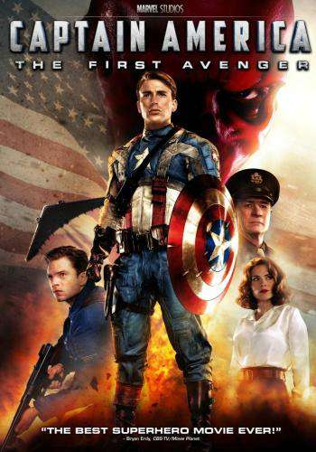Captain America: The First Avenger, Movie on DVD, Action Movies, Adventure