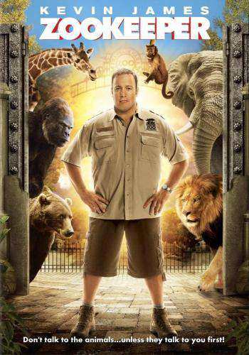 Zookeeper, Movie on DVD, Comedy Movies, Family