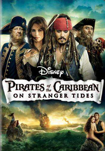 Pirates of the Caribbean: On Stranger Tides, Movie on DVD, Action Movies, Adventure