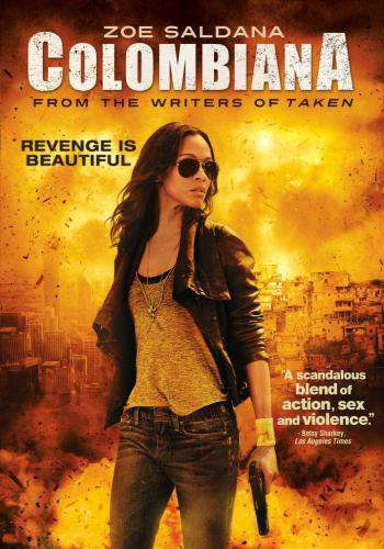 Colombiana, Movie on DVD, Action Movies, Suspense