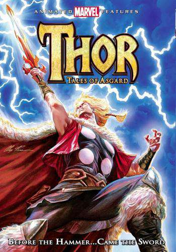 Thor: Tales of Asgard, Movie on DVD, Action Movies, Adventure Movies, Kids