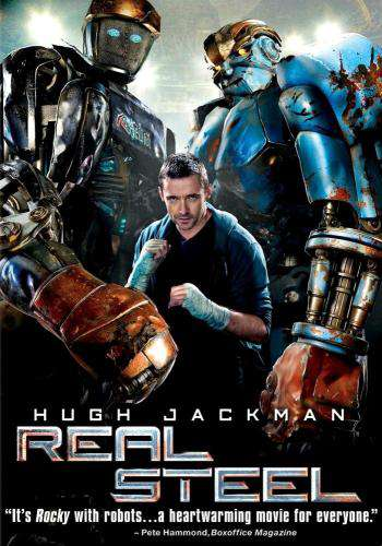 Real Steel, Movie on DVD, Action Movies, Sci-Fi & Fantasy